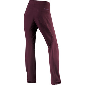 Houdini Lucid Pants Dame last round red